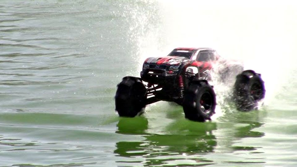 This TRAXXAS RC Truck Was So Fast That It Can Drive On