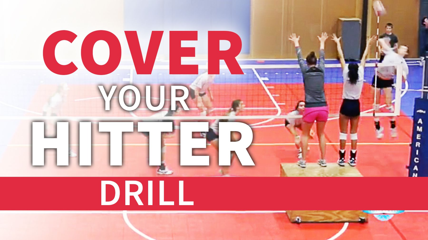Cover Your Hitter Drill The Art Of Coaching Volleyball Coaching Volleyball Volleyball Practice Volleyball Training