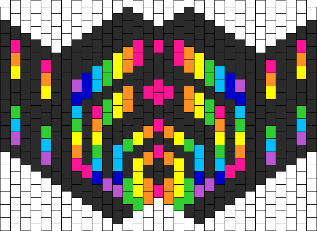 Bassnectar Mask Bead Pattern Might Have To Make This Random Enchanting Kandi Mask Patterns
