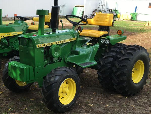 Jd 140 Custom With Front Ag Tires And Rear Duels