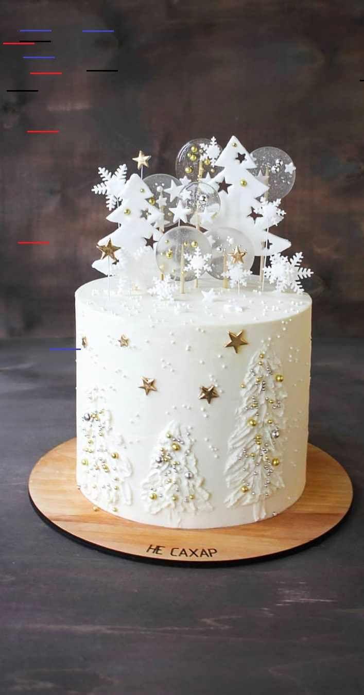 Seasonal Wedding Cake Ideas for a Winter Wedding - Wedding ...