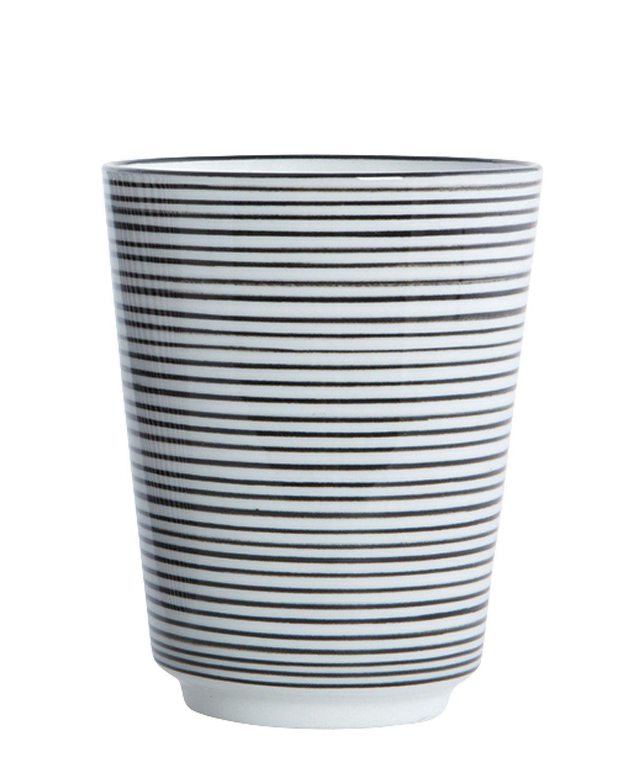 Pen Stripe By Hand Becher Streifen horizontal von House Doctor online kaufen