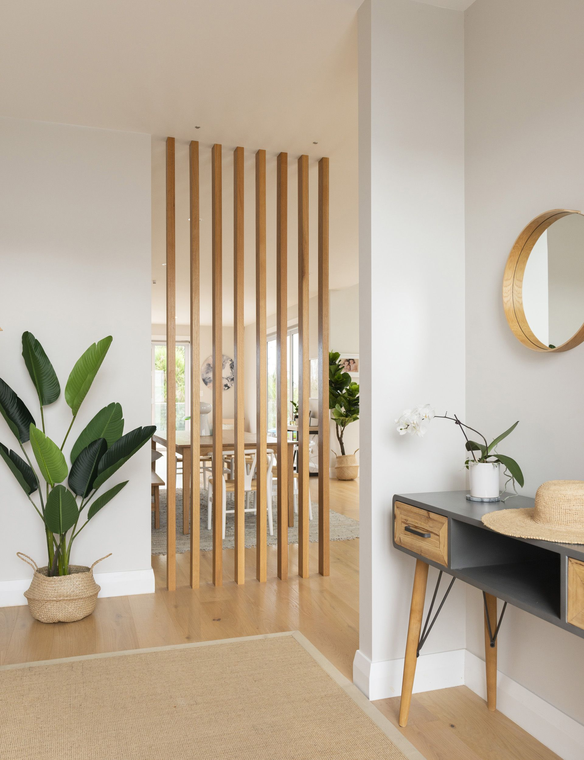 Inside A Stunning Scandi Style Home Built For This Family Of 5 House Interior Room Partition Designs Home Living Room