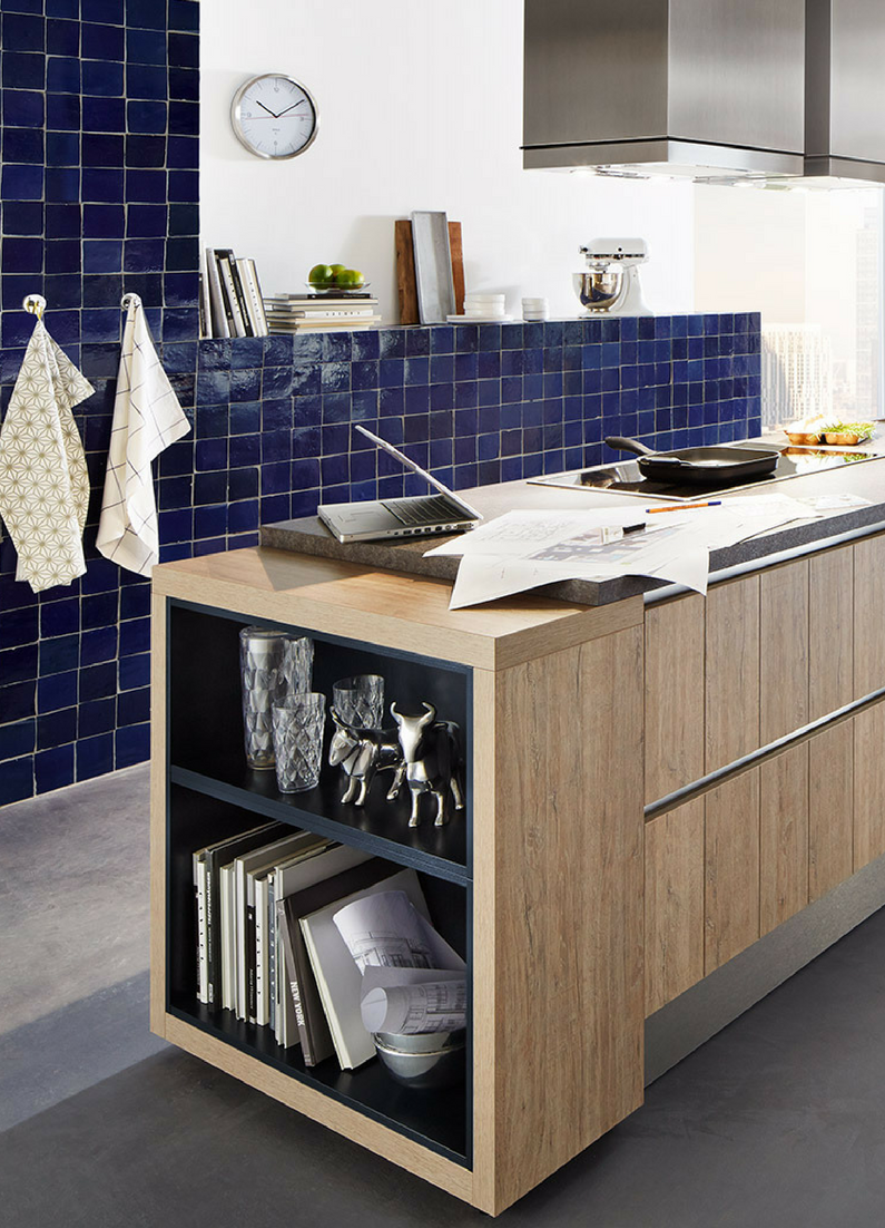 Farbige Wände in der Küche - Die 7 besten Tipps für die Wandgestaltung