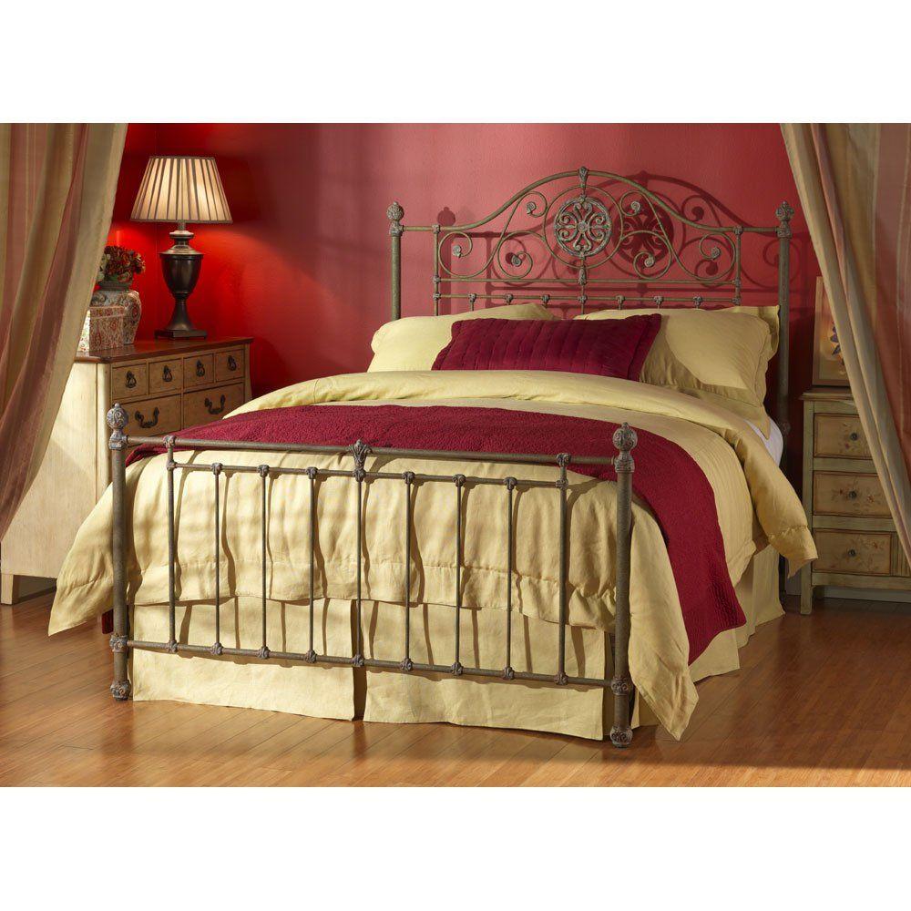 Wesley Allen Danbury Queen Bed WACB1474Q 1047.20 Iron