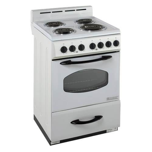 Avanti 24 Electric Range With Oven And Four Burners Home Appliances Sale Freestanding Electric Ranges Electric Range