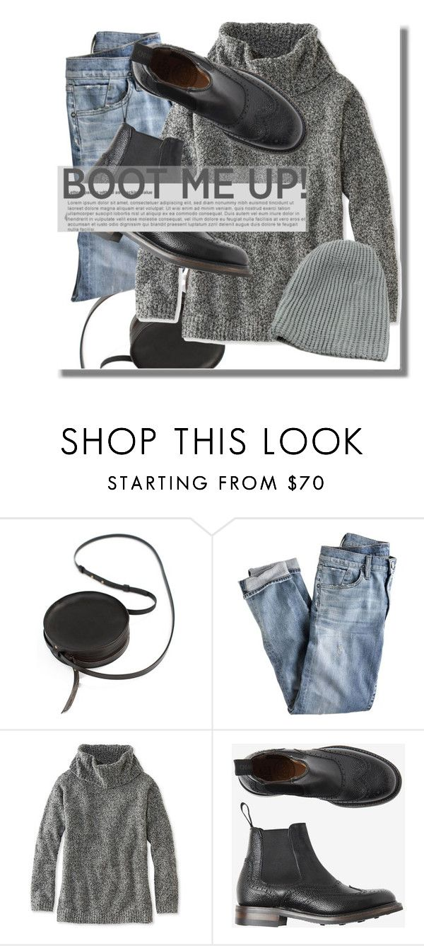 """""""Chelsea Boots"""" by adduncan ❤ liked on Polyvore featuring Sara Barner, J.Crew, L.L.Bean, Toast, chelseaboot and Winter2016"""