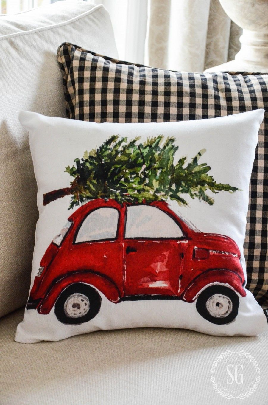 CHRISTMAS PILLOW LOVE. Decorate your home with festive Christmas Pillows…