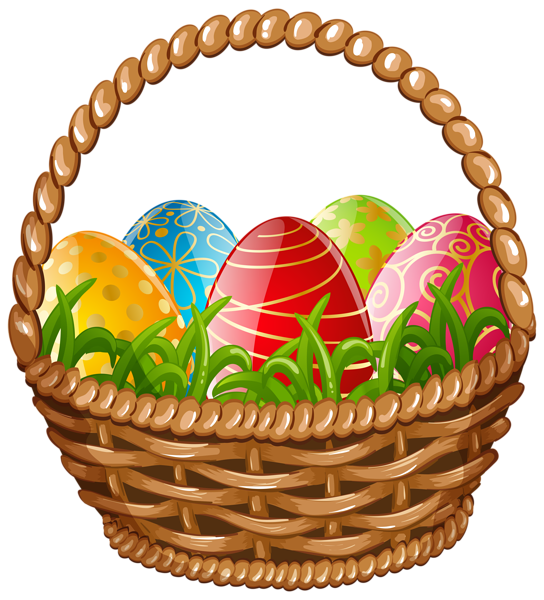 easter egg basket png clip art image easter pinterest rh pinterest ca clip art basket of flowers clipart basketball player