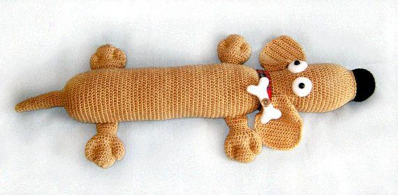 Amigurumi Sausage Dog Crochet Pattern US Version Instant   Etsy   280x570