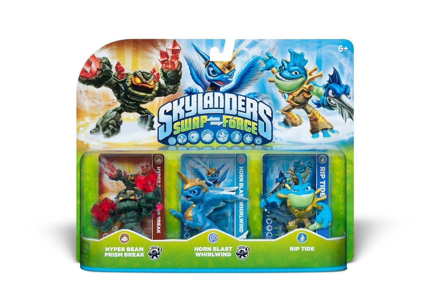 NEW Activision Skylanders SWAP Force Rip Tide Action Figure Character Pack