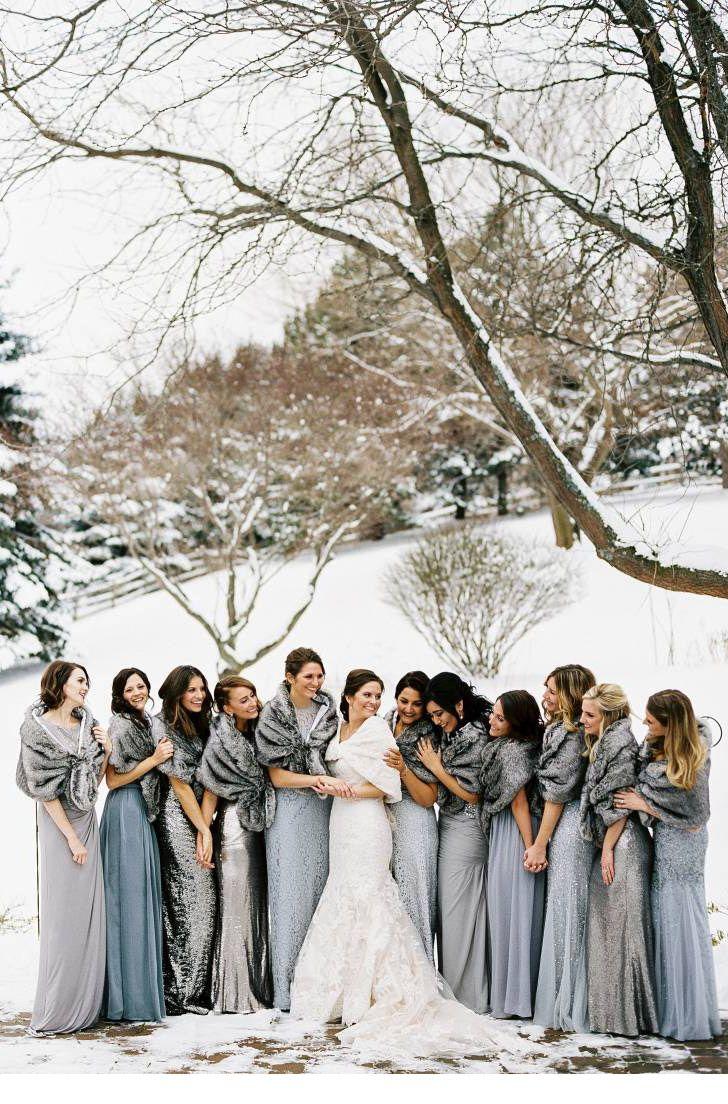 Die perfekten Winterhochzeitsideen mit Glitzer und Glitzer nach Farbe und Thema   – Ally's Wedding Ideas