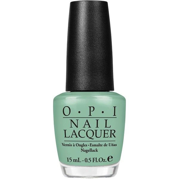 Opi Mermaid\'s Tears ($25) ❤ liked on Polyvore featuring beauty ...