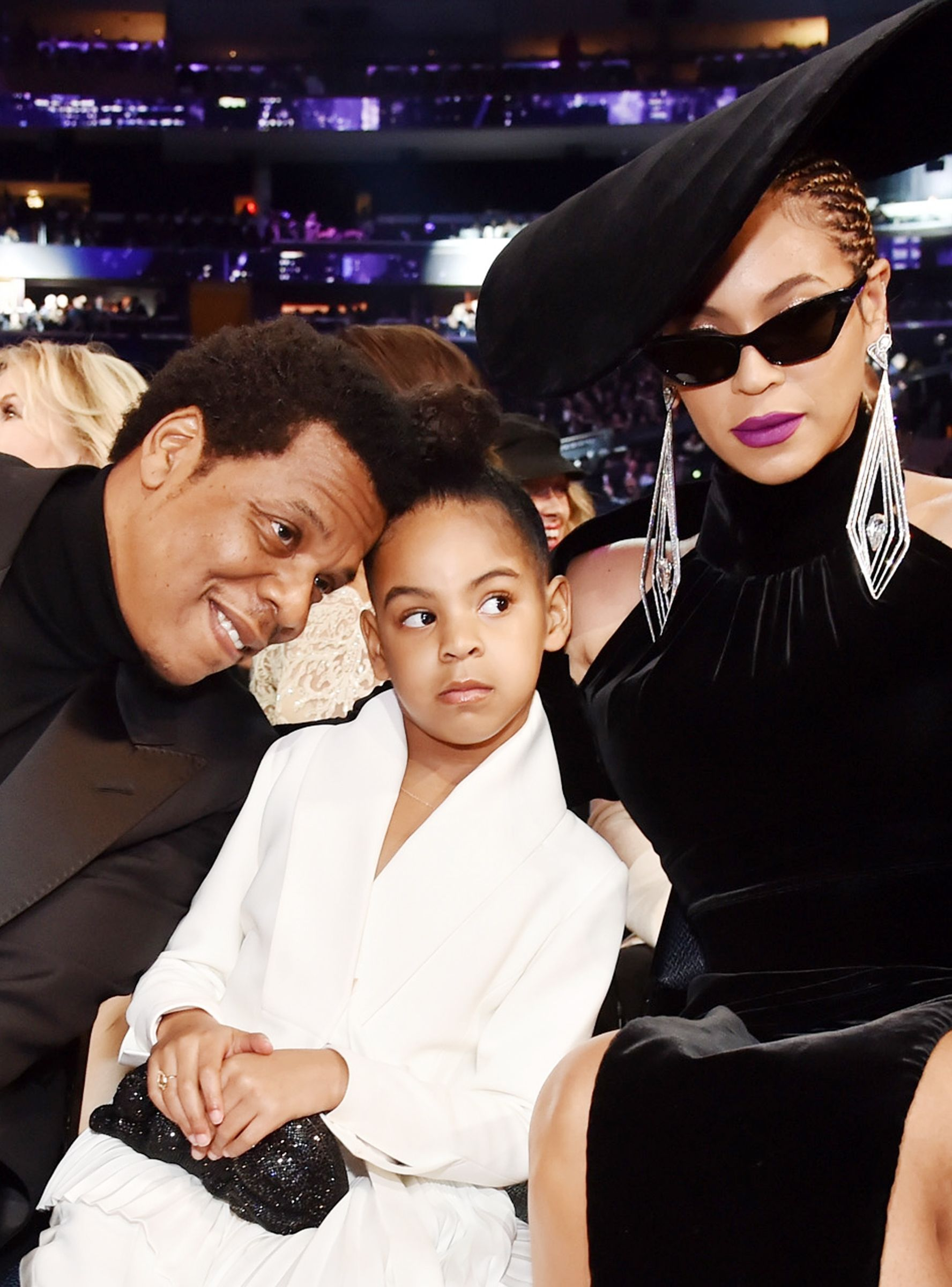 Living Icon Blue Ivy Had To Tell Beyonce Jay Z To Calm The Eff Down Beyonce And Jay Blue Ivy Carter Blue Ivy