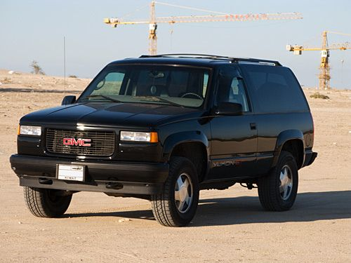 Our Truck 96 97 Gmc Yukon Gt Not Exactly Vintage But Since They Don T Make Em Anymore Autos Y Motos Autos Motos