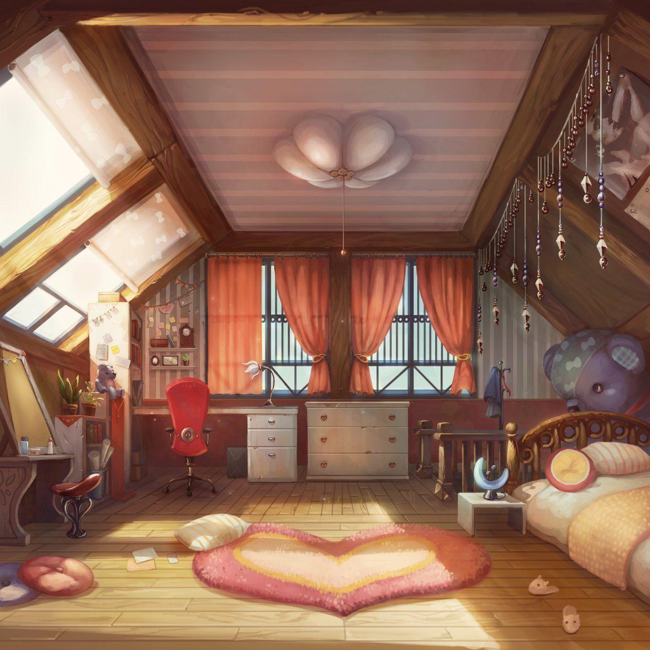 Imagem De Anime Background Help Por C I A Kowallaz Cenario Anime