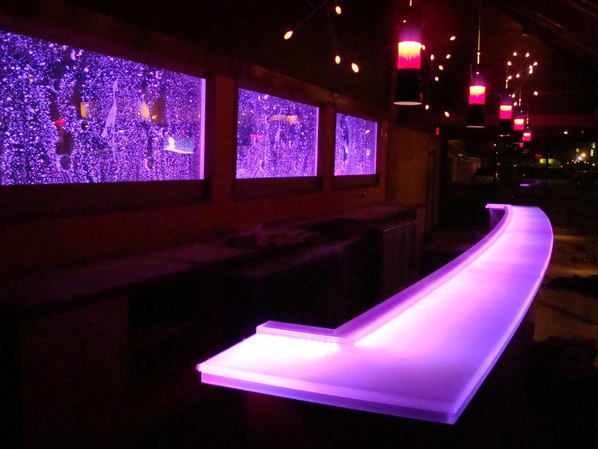 Beau Bar Tops, Dream Pools, Bar Designs, Bar Ideas, Bubble, Event Decor,  Penguins, Counter, Acrylics