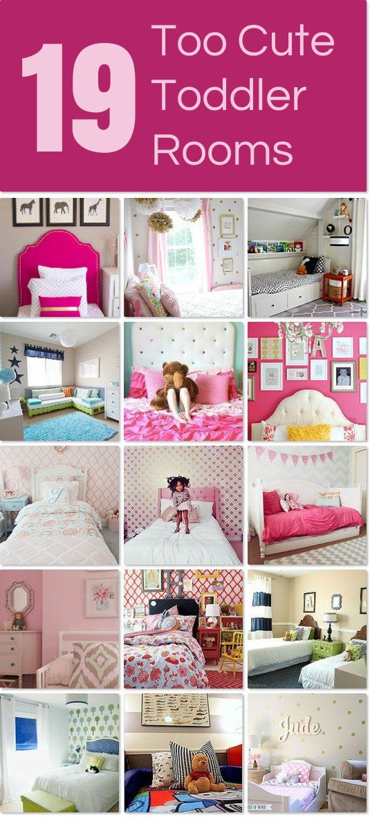 Awesome Toddler Rooms