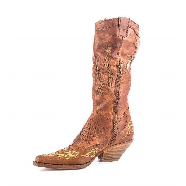 b18ae51b2c Ταμπά Καουμπόικες Δερμάτινες Μπότες