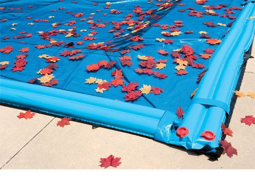 Oval Above or In-Ground Swimming Pool Winter Leaf Net Covers ...