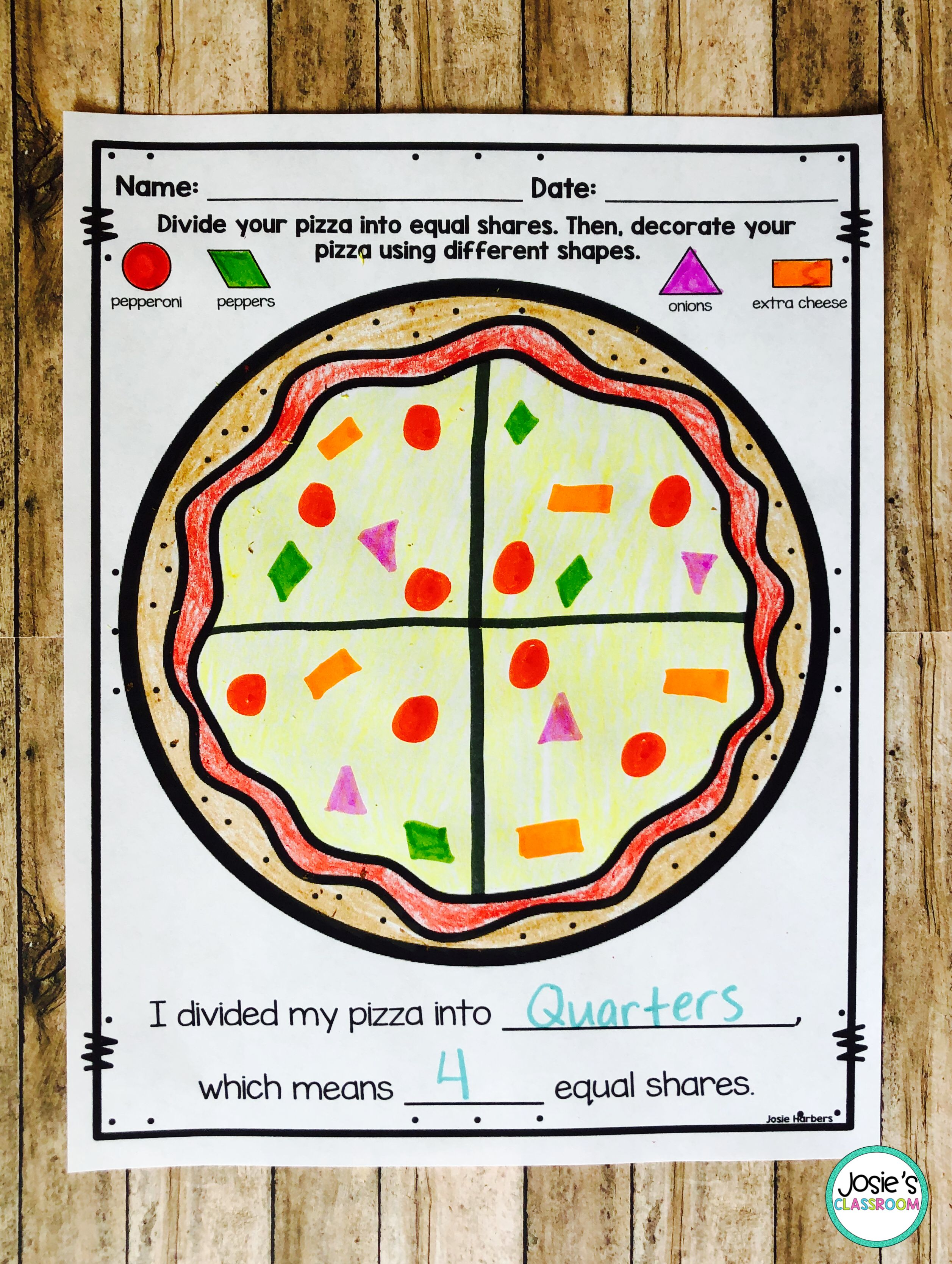 Geometry For First Grade