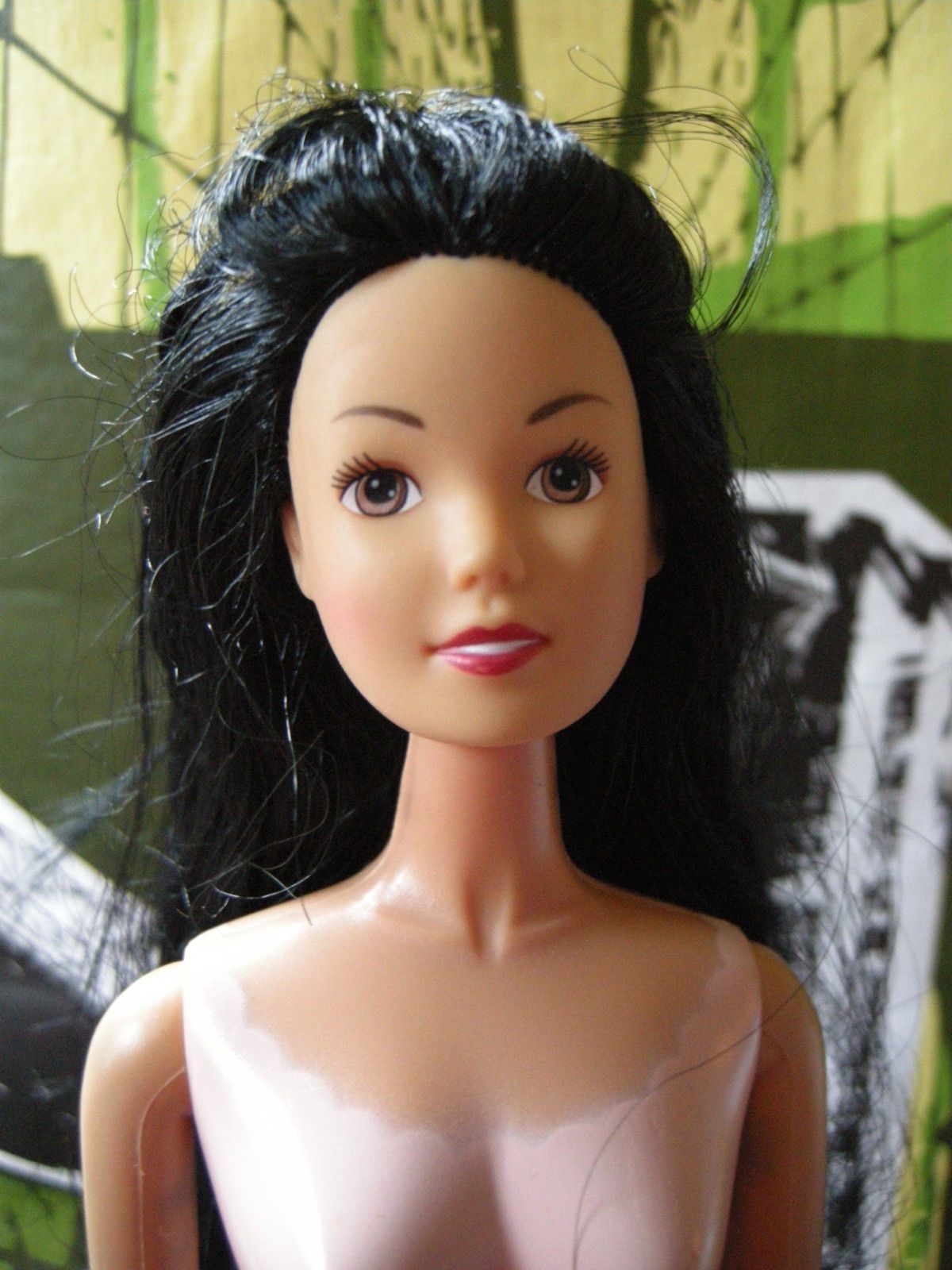 amazing indians nude Amazing Barbie Doll Nude Simba Hindu Bride Indian Black Hair Pale Skin  Beautiful - with Mehndi