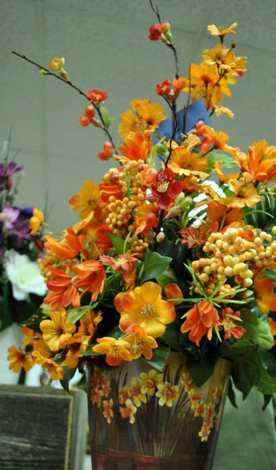 Lillies Flowers Floral Bouquet Silk Flower Flower Arrangement