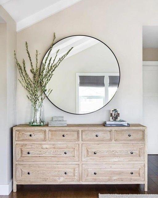 Dresser Decor, How Wide Should A Mirror Be Over Dresser