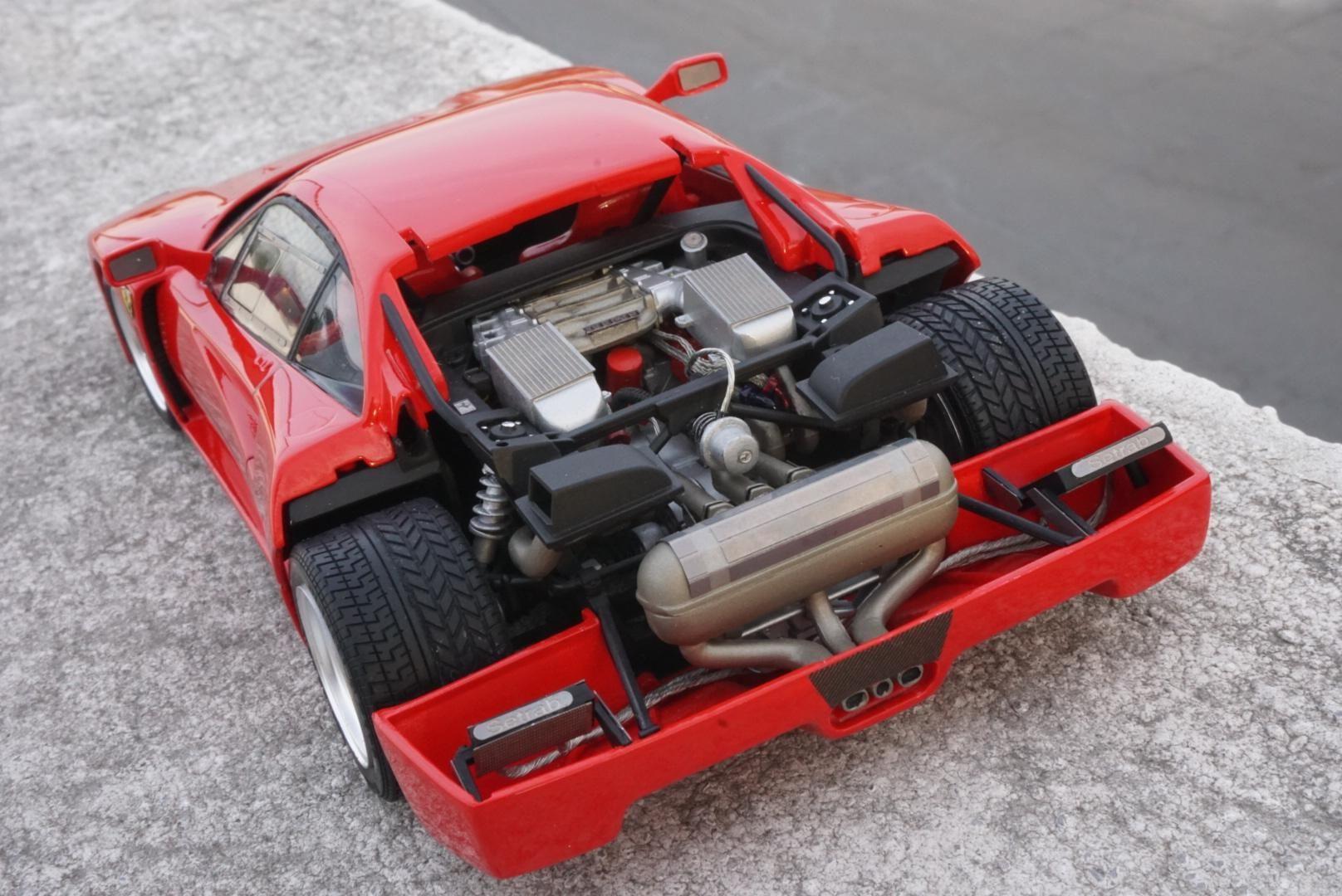 Ferrari F40 Tamiya 1 24 Ferrari F40 Ferrari Scale Models Cars