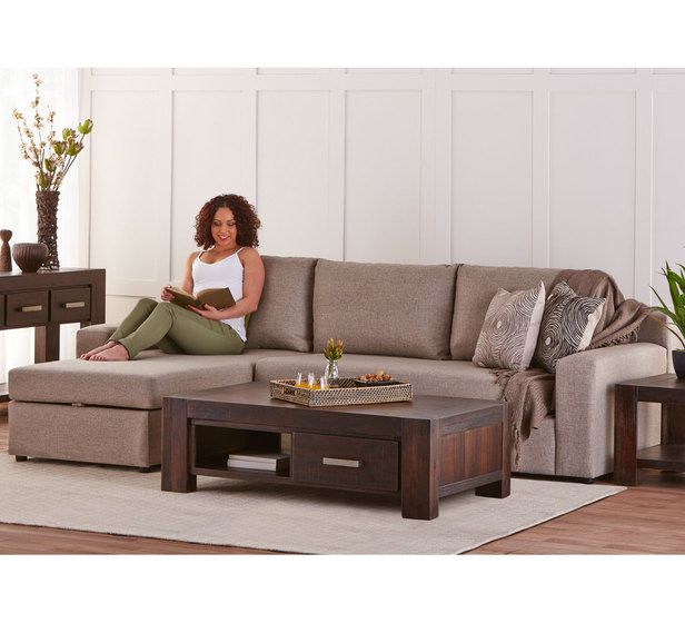 Madrid 3 Seater Sofa Bed with Storage Chaise Left  sc 1 st  Pinterest : 3 seater chaise sofa bed - Sectionals, Sofas & Couches