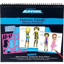 Project Runway Fashion Design Sketch Portfolio Fashion Angels Toys R Us Fashion Design Sketch Project Runway Fashion Angels