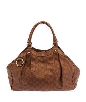 d1afed4d3fb5b3 Get one of the hottest styles of the season! The Gucci Sukey Hobo (26479)  Bronze Tote Bag is a top 10 member favorite on Tradesy.