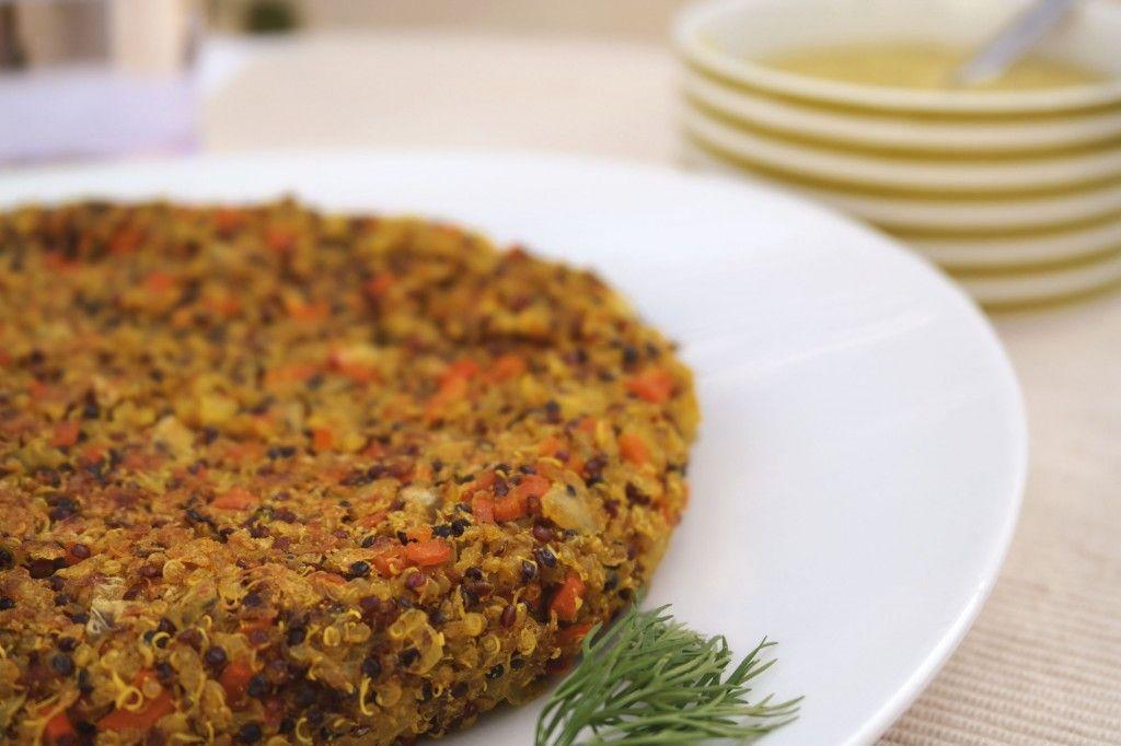 Pastel de Quinoa y Verduras