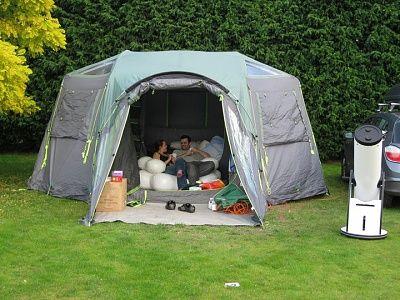 inflatable glamping | Glamping: DIY | Glamping, Tent camping
