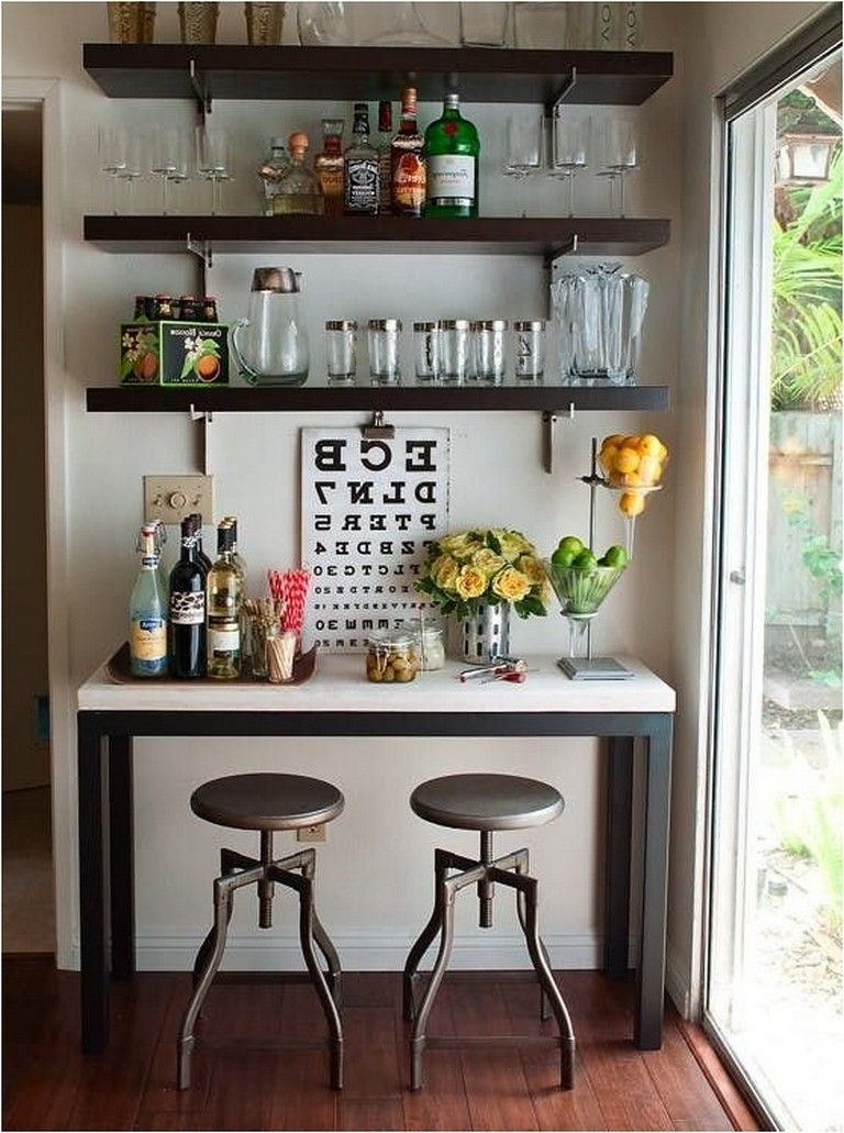 Home Bar Ideas Apartment
