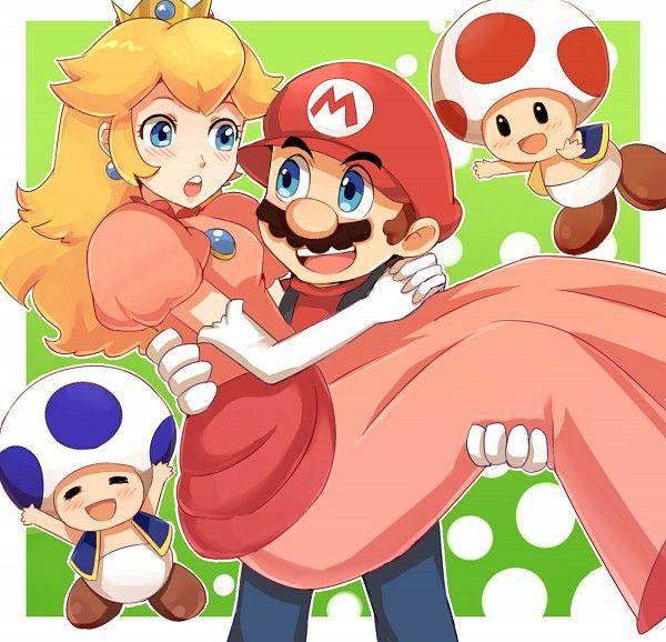 Tags Anime Fanart Nintendo Super Mario Bros Pixiv Mario