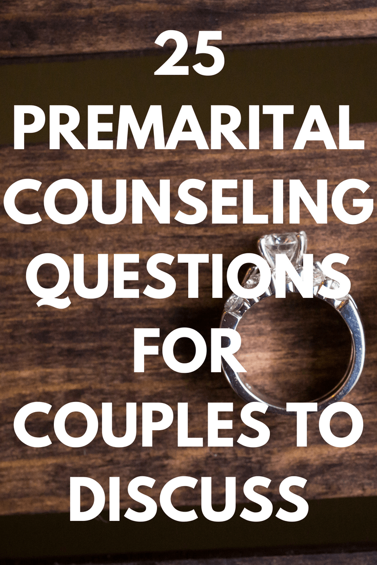 25 Premarital Counseling Questions Every Couple Must Discuss Before Marriage