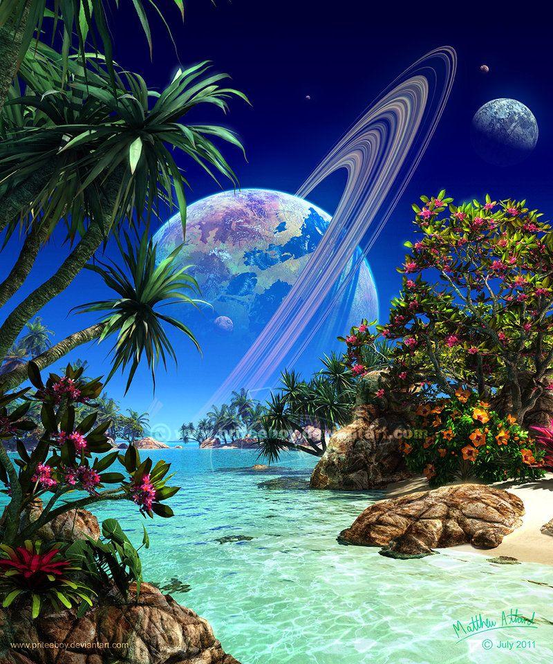 DeviantART and Paradise on Pinterest
