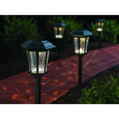 Hampton Bay Pathway Lights New Hampton Bay Solar Roman Bronze Outdoor Integrated Led Landscape Path Review