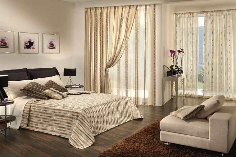 Tende per camera da letto tante idee per grandi e piccini idee per la casa pinterest - Tende per la camera da letto ...