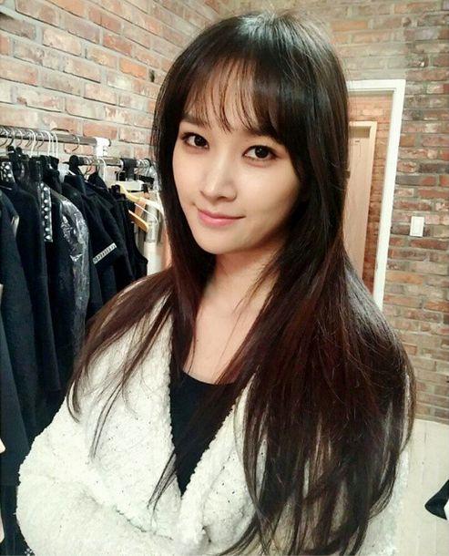 Korean See Through Bangs Long Hair With Bangs See Through Bangs Hair Styles