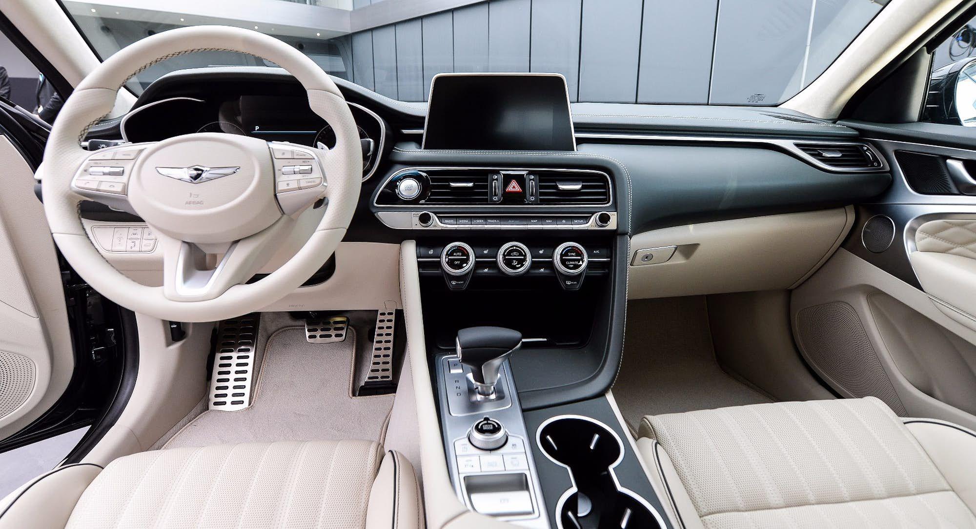 Another Interior Trim Option In The Genesis G70 Sports Sedan Hyundai Hyundai Genesis