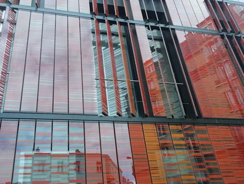 Colorful Silk-Screened Glass in Paris [502] | filt3rs