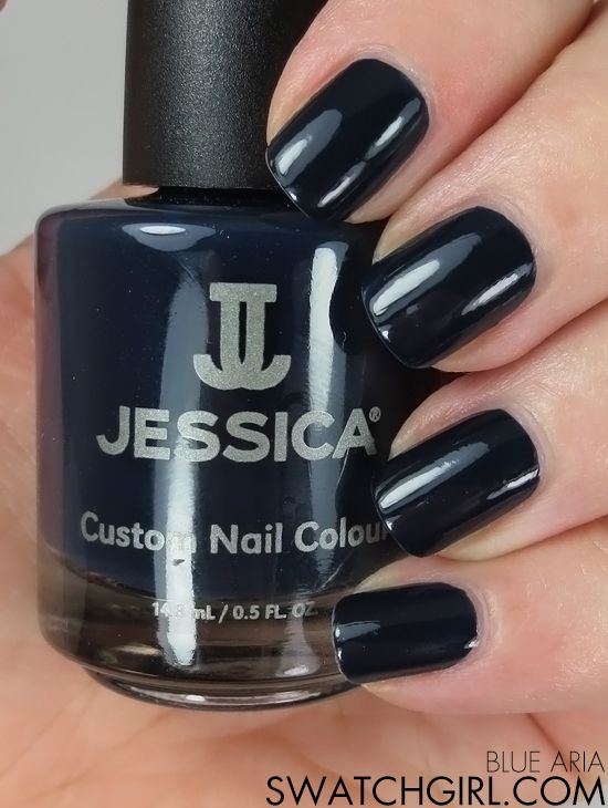 Jessica A Night At The Opera collection nail swatches | Swatch and ...