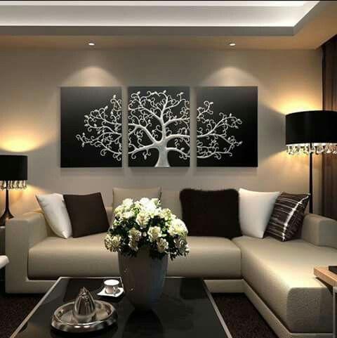 Pin de Anni Villalobos en Interiores! Pinterest Sala de estar - Decoracion De Interiores Salas