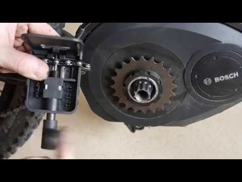 Change Chainring Bosch Active Performance Ebike Tuning Youtube Bosch Ebike Graphic Card