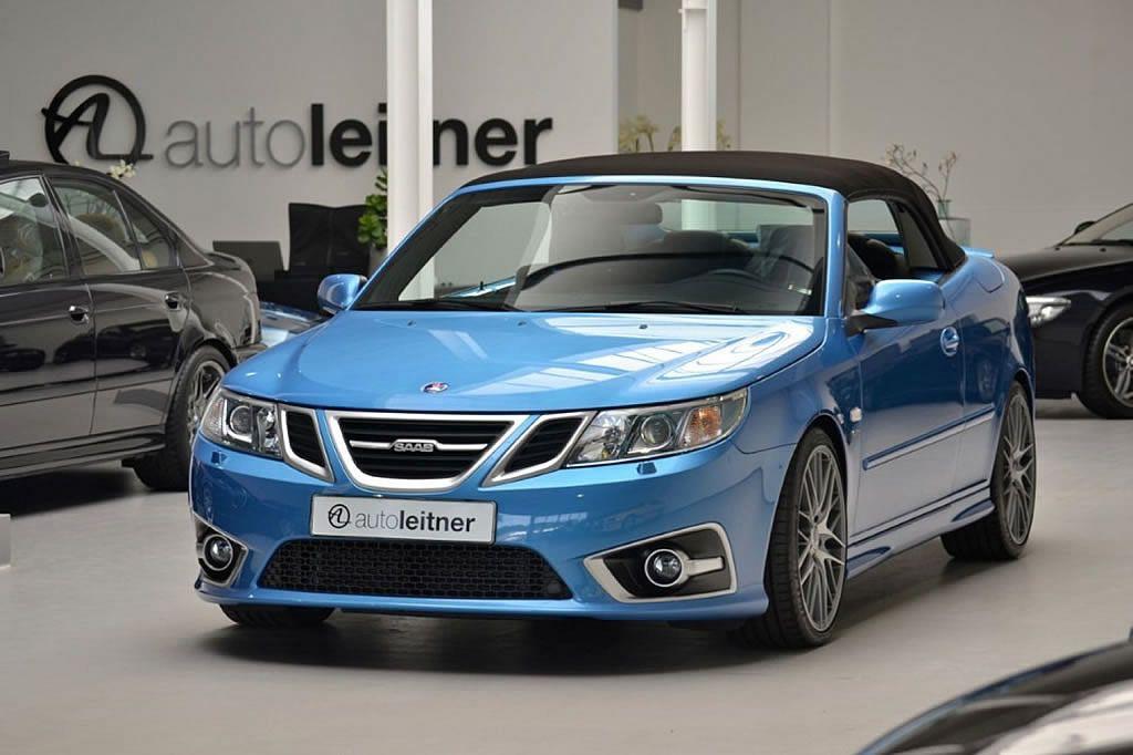 2012 Saab 9-3 Aero Convertible - Sky Blue Edition