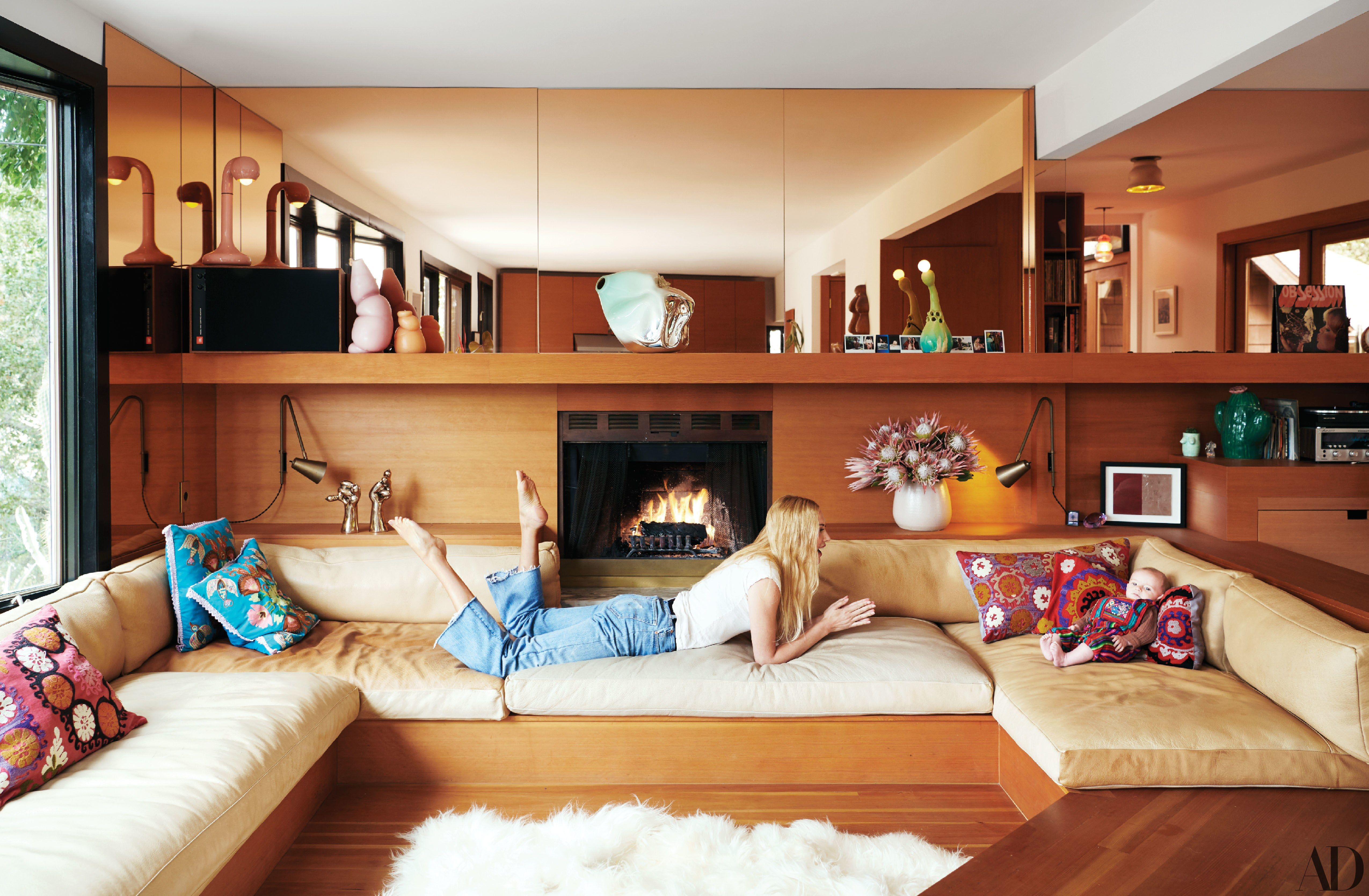 Best Tour Nikolai Haas And Djuna Bel S Los Angeles Haven Built In Couch Living Room Decor 400 x 300