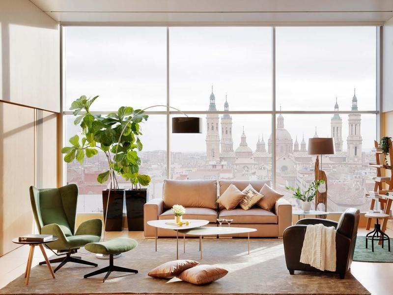 Cómo combinar el sofá con otros asientos | Sofá, Salón y Comedores