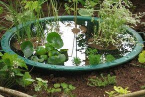 Comment cr er un mini bassin qui n 39 a pas un jour r v de - Comment creer une fontaine de jardin ...